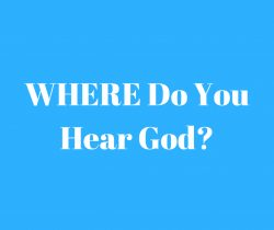 Where Do You Hear God